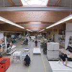 Firma Strohm neue Produktionshalle