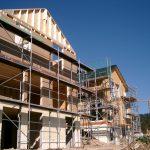 Montage Holzständerhaus